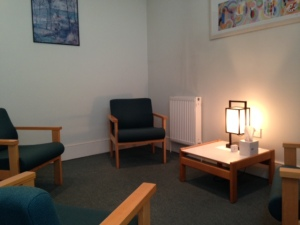 Ground floor room with disabled access. Folding door can be removed to create a large room for up to 15 people.